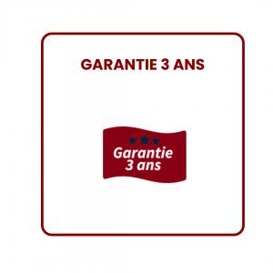 Logo garantie de 3 ans pour générateurs d'ozone