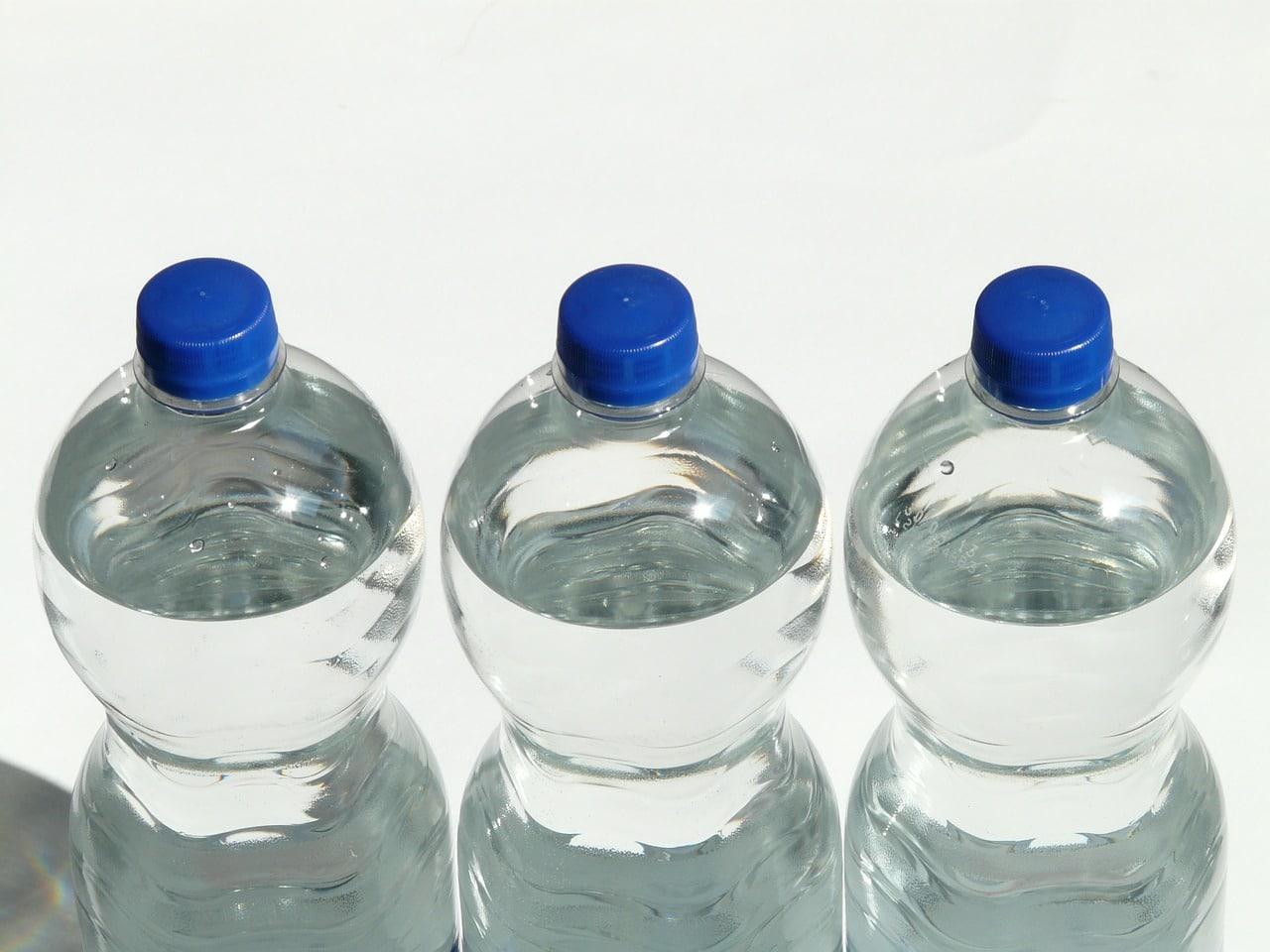 utilisation de l'ozone pour l'eau en bouteille