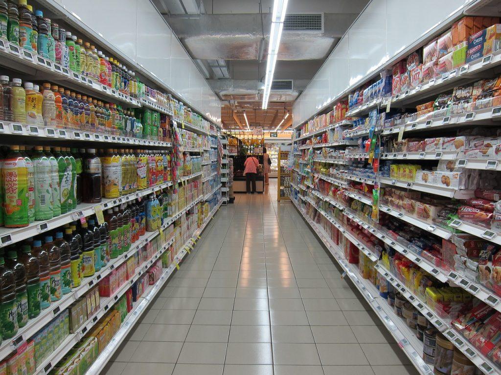 risque d'infection des produit dans les magasins par contact
